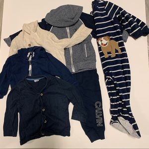 Lot of 18 month boys clothing (15 pieces)